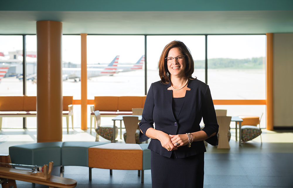 Christina Cassotis, CEO, Allegheny County Airport Authority