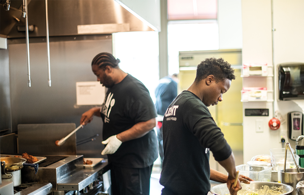 Community Kitchen Pittsburgh provides on-the-job training, supportive services, and job placement opportunities in the culinary arts.