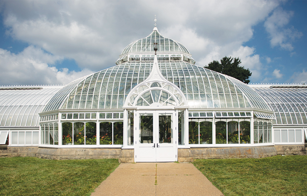 To commemorate the Phipps' 125th anniversary, the Glasshouse is being restored to sustain it for future generations. The renovation includes replacement of the glass panes as well as a recreation of the conservatory's ogee crest, lost during a storm in 1937.